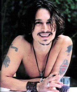 Johnny Depp body Tattoos